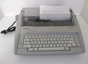 Brother Electric Correcting Typewriter Lightweight Portable Model Gx 6750