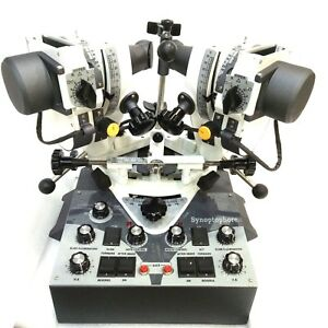New Synoptophore Stereoscope Strabismus And Amblyopia Unit With Free Shipping