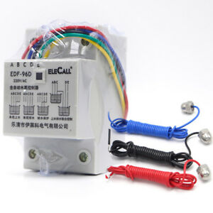 Df96d Ac220v 5a Din Rail Mount Float Probes 3 With Controller Level Water Auto