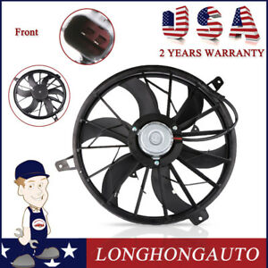 Front Radiator Cooling Fan Assy Work For 99 2003 Jeep Grand Cherokee 52079528ab