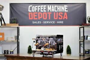 Elektra Sixties 2 Group Compact Commercial Espresso Coffee Machine