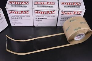 4 Rolls Cotran Mastic Tape 2 X 10 Equivalent Waterproof Sealing