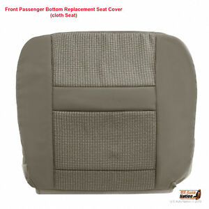 2010 Dodge Ram 3500 4500 5500 Front Right Bottom Cloth Replacement Cover Tan