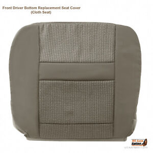 2007 2008 2009 2010 Dodge Ram 4500 Driver Lower Bottom Fabric Seat Cover In Tan