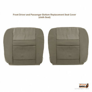 2007 2008 2009 2010 Dodge Ram 2500 3500 4500 5500 Front Bottoms Cloth Cover Tan