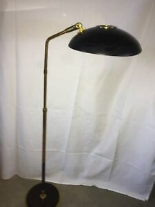 Vintage Lightolier Articulated Floor Lamp Gerald Thurston Mid Century Modern