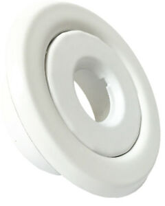 10 Pack 1 2 Ips Fire Sprinkler Head Semi recessed Escutcheon Cover White