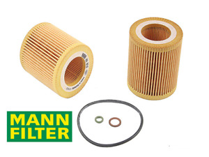 1 X Engine Oil Filter Mann Hu816x Replace Bmw Oem 11428683196 W Gaskets