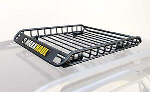 Universal Steel Roof Rack Car Top Cargo Carrier basket 46 X 36 X 4 1 2 150 Lb