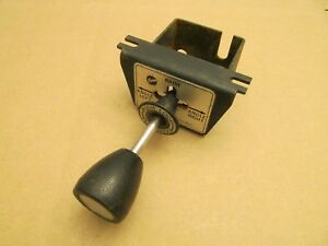 Fisher Or Western Joy Stick Controller Snow Plow Cable Operated Pump