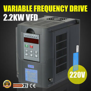 3hp 2 2kw 10a 220vac Single Phase Variable Frequency Drive Inverter Vsd Vfd