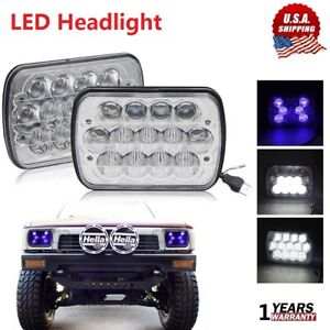 7x6 5x7 90w H6054 Halo Drl Sealed Beam Led Headlights For Toyota Pickup Truck