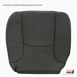 2004 2005 Dodge Ram 1500 St W t Driver Bottom Cloth Replacement Seat Cover Gray