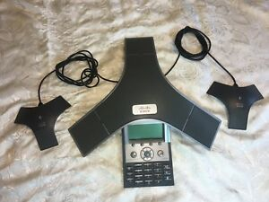 Cisco Ip Conference Station Phone Cp 7937g Voip 2 External Mics 2201 40100 001