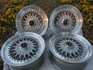 Bbs Rs008 16 Mercedes W201 16v W126 560 R107 W124 Wheels