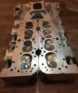 Afr 190cc Cylinder Heads Intake Manifold Ported Matched Race 383 400 350 327