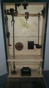 Antique Fairbanks Recruiting Office Scale