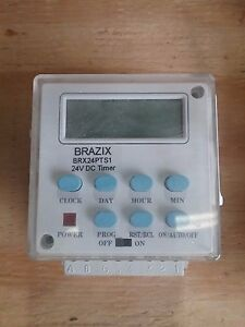 Brx24pts1 Brazix 24v Programmable Timer Switch 15a Brand New And Free Shipping