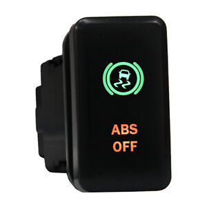 12v Push Switch 8b83gr Abs Off Led Green Red For Toyota Highlander Fj Cruiser