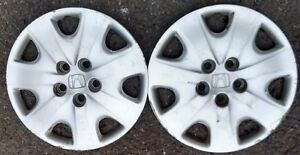 2 Honda Accord 16 Wheel Cover Hub Cap Factory P N 44733 Sdb A00