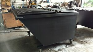 3 Yard Rear Load Dumpster For Sale