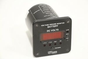 Arga Controls Battery Monitor Voltage ground Meter alarm Relays 25 469