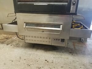 Middleby Marshall Js 350 Pizza Oven Gas 32 Conveyor good Working Condition