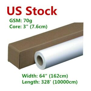 Us Stock 70gsm 64 Hanji Dye Sublimation Paper For Heat Press Transfer Printing