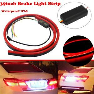 144 Led Red Tail Brake Stop Light Roofline Sign Light High Brake Kit Rear Strip