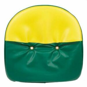 Green And Yellow Tractor Pan Seat Cover Universal Ford John Deere Massey Case