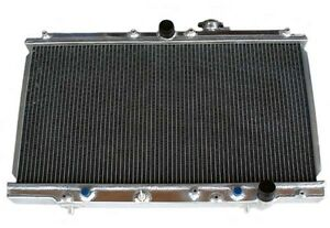 2 Row Performance Aluminum Radiator Fit For 1997 2001 Honda Prelude At Mt New