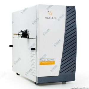 Refurbished Varian 220 ms Ion Trap Mass Spectrometer With One Year Warranty