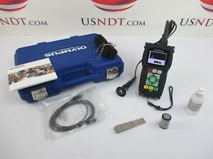 Panametrics 45mg Thickness Gage Ultrasonic Flaw Detector Ndt Olympus Ge
