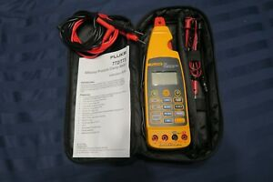 Brand New Fluke 773 Milliamp Process Clamp Meter W Leads Soft Case Msrp 1299