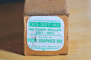 Didde Web Press Roller 327 501 lith o roll Dg 327 02