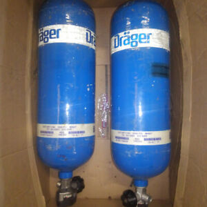 Drager 60 Minute 88 Cubic Feet 4500 Psi Carbon Tank Cylinder Manufactured 02 11