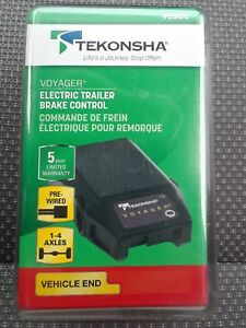 Tekonsha 9030c Voyager Electric Trailer Brake Control Vehicle End New