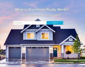 Ihomevaluations com Domain Name Site Included Free Hosting Real Estate