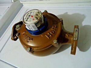 New Hersey 1 1 2 562 Water Meter Direct Reading Nsf61 Part Number D357915610