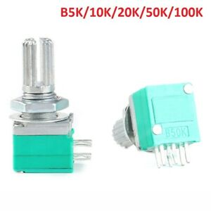 Rk097g Linear Stereo Audio amplifier Sealed Potentiometer 6 pin B5k To 100k Ohm