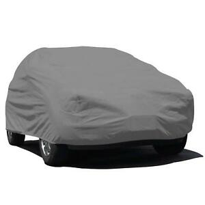 Budge Lite Suv Cover Fits Small Suvs Ub 0 Polypropylene Gray