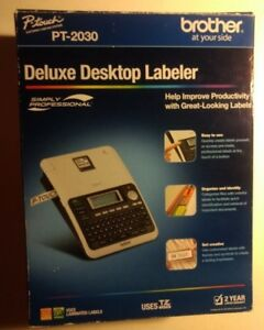 Brother P touch Pt 2030 Deluxe Desktop Labeler