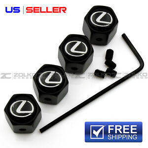 Anti Theft Valve Stem Caps Wheel Tire For Lexus Va21 Us Seller