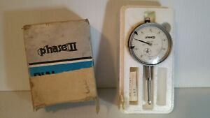 Phase Ii Dial Indicator 900 102 001 0 1 Machinist Tool