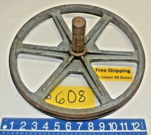 Band Saw Blade Wheel Doall 14 Dia 1 1 4 Shaft Machine Shop Tool Free Ship