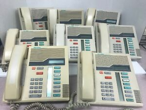 8 Northern Telecom Nt Nortel M7208 Office Business Tan Phone free Shipping
