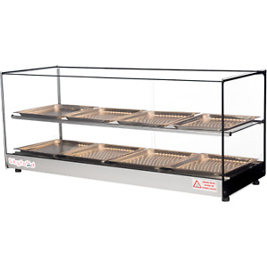 Commercial Countertop Food Warmer Display Case 44 With 8 Trays