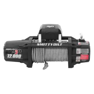 Smittybilt X2o Waterproof Electric Winch 12000 Lb Load Capacity 97512