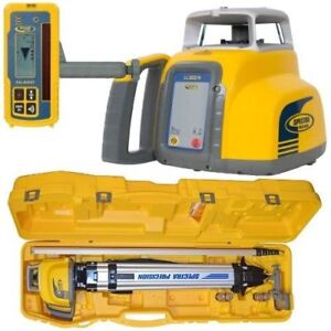 Spectra Ll300n 2 Laser Level With Hl450 Receiver Plus Inches Rod