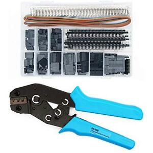 Dupont Crimping Tools Pliers With 1420pcs Connectors Idc Cable 0 1 1 0mm For
